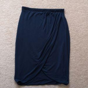 Babaton wrap skirt